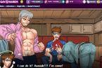 Dessin anime jeu gay avec la bite a sucer