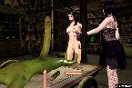 Deux filles dans le role de fantasy a sucer la bite monstre hentai