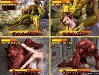 Monstres baise nanas hentai manga porno jeux