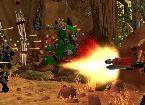 Espace soldat shoot crazy monstres dans simulation cosmique