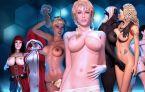 Beaucoup de femmes 3d dans les jeux sexy baise