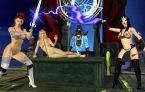Monde fantastique de femmes nues tres cochonnes