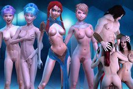 Jeux virtuels adultes avec des filles sexy virtuelles